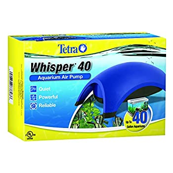 Tetra Whisper Air Pump For 20 to 40 Gallon Aquariums