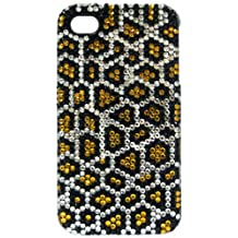 Crystal Icing Select CI1013 Snow Leopard Crystal Case for iPhone 4/4S - Retail Packaging - NA