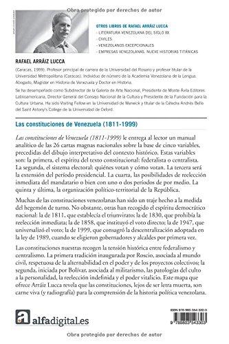 Las constituciones de Venezuela (1811-1999): Amazon.es: Arráiz ...