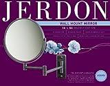 Jerdon 8-Inch Two-Sided Swivel Wall Mount Mirror