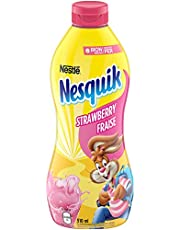 NESQUIK Iron Enriched Strawberry Flavoured Syrup 510 ml Bottle