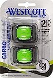 Westcott CarboTitanium Replacement Blades, 2 Pack