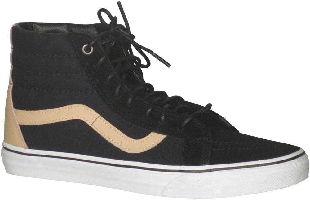 VANS MENS SK8 HI REISSUE LEATHER SHOES B01I26IBXQ 14.5 B(M) US Women / 13 D(M) US Men|(Veggie Tan) Black-true White