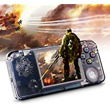"""Rongyuxuan Handheld Game Console, Portable Video Game 3"""" TFT Screen Classic Handheld Video Game Console with 818 Games 64 Bit Game Console, Birthday Gift for Children and Adults"""