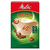 Melitta Two Cup Filter Papers 40 per pack - Pack of 6