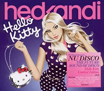 hed kandi nu disco hello kitty limited edition