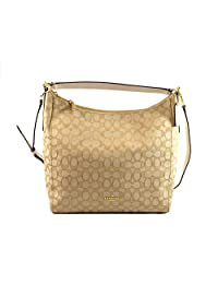 Coach Outline Signature Celeste Hobo Shoulder Crossbody Bag Purse Handbag