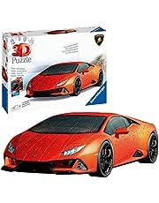 Ravensburger 3D Puzzle Lamborghini Huracán EVO 11238 - Das berühmte Fahrzeug als 3D Puzzle Auto: Erleben Sie Puzzeln in der 3. Dimension