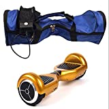 K&C Electric Smart Self Balancing Scooter Hover Board Unicycle Balance 2 Wheel Case Backpack Bag Blue