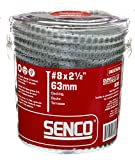 Senco Duraspin Screw Number 8 by 2-1/2-Inch All