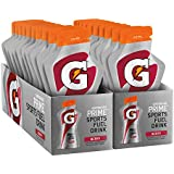 Gatorade Prime Sports Fuel Drink, Berry, 4 Ounce Pouches (Pack of 20)