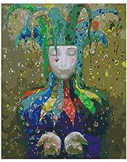 S-TROUBLE Personalidad DIY Pintura al óleo Digital por números Imagen Moderna del Arte de la Pared para niños y Adultos y Principiantes