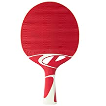 Cornilleau Tacteo 50 Weatherproof Table Tennis Racket - Red/White