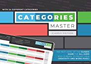 Categories Master an Innovative New Edition of a Classic Game with 28 Different Categories and New Game Rules, Fun for All o