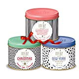 INFUZ 3-Pack Holiday Gift Tea Set Including Detox, Silhouette and Dreams, 3 x 100 grams
