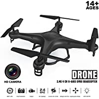 720P 2.0MP Camera RC Quadcopter Drone with Led Light 6 Axis Gyro RTF