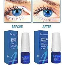 5 x Innoxa Gouttes Bleues French eye drops 5 x 10 ml (0.35 fl.oz) by Innoxa