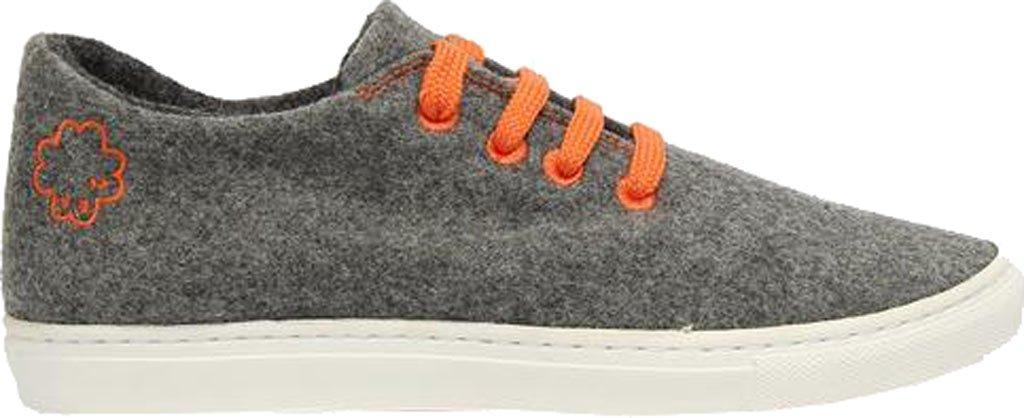 Baabuk Wool Sneaker - Women's B01N2X8ZS0 38 D EU / 7 D US Women|Light Grey/Orange