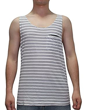 Mens Surf & Skate Crew-Neck Sleeveless Shirt / Vest Top