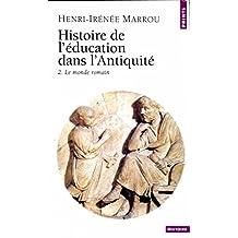 Histoire de l'éducation dans l'Antiquité: Le monde romain