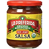La Preferida Organic Salsa (Hot), 0.49 L