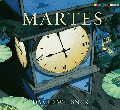 Book : Martes (English and Spanish Edition) - Weisner, David