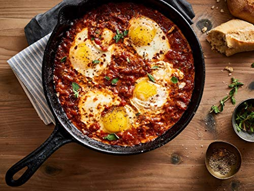 Mina Shakshuka Tomato Sauce, Savory Marinara Sauce Crafted with Moroccan Herbs and Spices, Perfect as Pasta Sauce, Keto Food, No Sugar Added, 26 Ounce (Pack of 2)