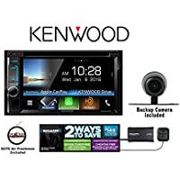 Kenwood DDX6903S DVD Receiver w/ SiriusXM Satellite Radio SXV300V1 and Backup Camera with a FREE SOTS Air Freshener Included