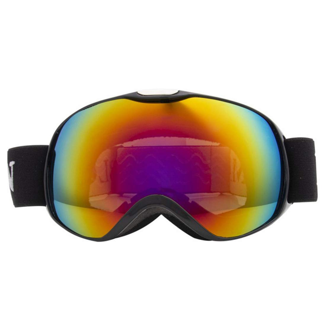 Black Sububblepper Ski Goggles, Gonex Snow Snowboard Goggles for Men Women Youth AntiFog with Windproof AntiUV (color   bluee)