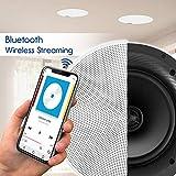 "Pyle Pair 6.5"" Bluetooth Universal Flush Mount"