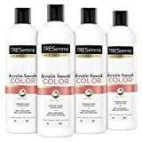 TRESemmé Conditioner for Color Treated Hair Keratin Smooth Color Conditioner that Prolongs Color and Extends the Time Between Coloring oz 4 Count, 20 Ounce