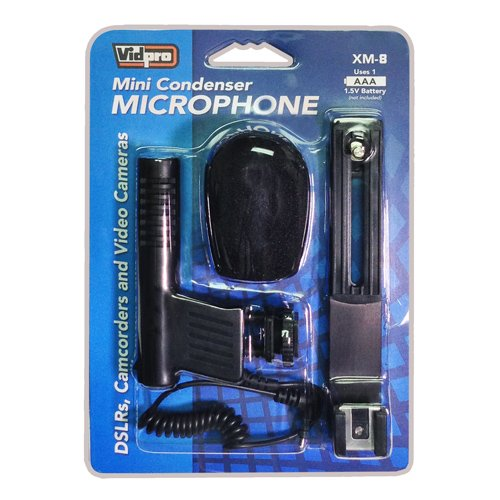 Canon VIXIA HF R500 Camcorder External Microphone