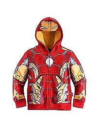 TIYI Spiderman Hoodie Boys,Superhero Cool Jacket Sweatshirt Hoodie for Boys 2T-8T