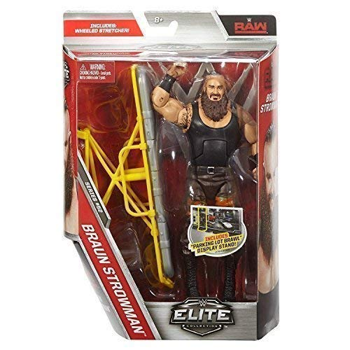 WWE Elite Serie 52 WRESTLING ACTIONFIGUR - braun strowman mit Zubehör für Figur Spielzeug