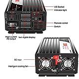 Xijia 2000W (Peak Power 4000W) Pure Sine Wave Dual