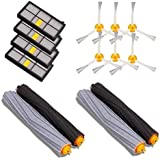 GHB 14PCS Accessories for iRobot Roomba 880 860 870 871 980 990 Replenishment Parts Spare Brushes Kit