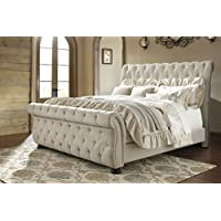 Signature Design by Ashley B643-77 Willenburg Upholstered Headboard, Queen