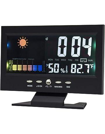 Lanker Reloj De Alarma Digital - 5.5