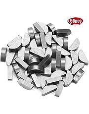 Woodruff Key - 50Pcs 45# Steel Semicircle Bond Woodruff Key Kit Accesorios 5 * 7.5 * 19mm