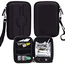 Vape & Mod Portable Travel Case Compatible with eVod |Semi-hard Shell with Universal Fit & Strap for Easy Attachment| Classic Black