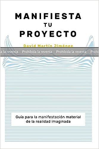 PRUEBA: MANIFIESTA TU PROYECTO: Guía para la manifestación material de la realidad imaginada: Amazon.es: MARTÍN, DAVID: Libros