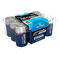 RAYOVAC C 12-Pack HIGH ENERGY Alkaline Batteries, 814-12PPK