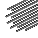 uxcell 2mm Carbon Fiber Bar for RC Airplane Matte