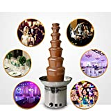 Liquor 7 Tiers 8KG Capacity Chocolate Fountains Machine For Party Buffet Resturant