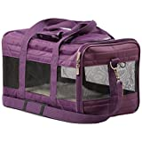 Sherpa 55544 Original Deluxe Pet Carrier, Medium Plum