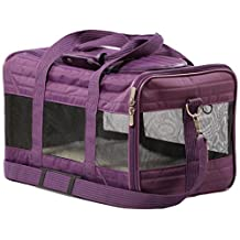 Sherpa 55545 Original Deluxe Pet Carrier, Large Plum
