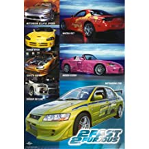 The Fast And The Furious 2 - Movie Poster: Collage (Size: 27'' x 40'')