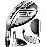 Adams Golf Men's New Idea Hybrid Club, Left Hand, Graphite, Regular Flex, 19-Degree, #3