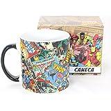 Caneca Canecão Super Heróis Marvel - Capas de Hqs
