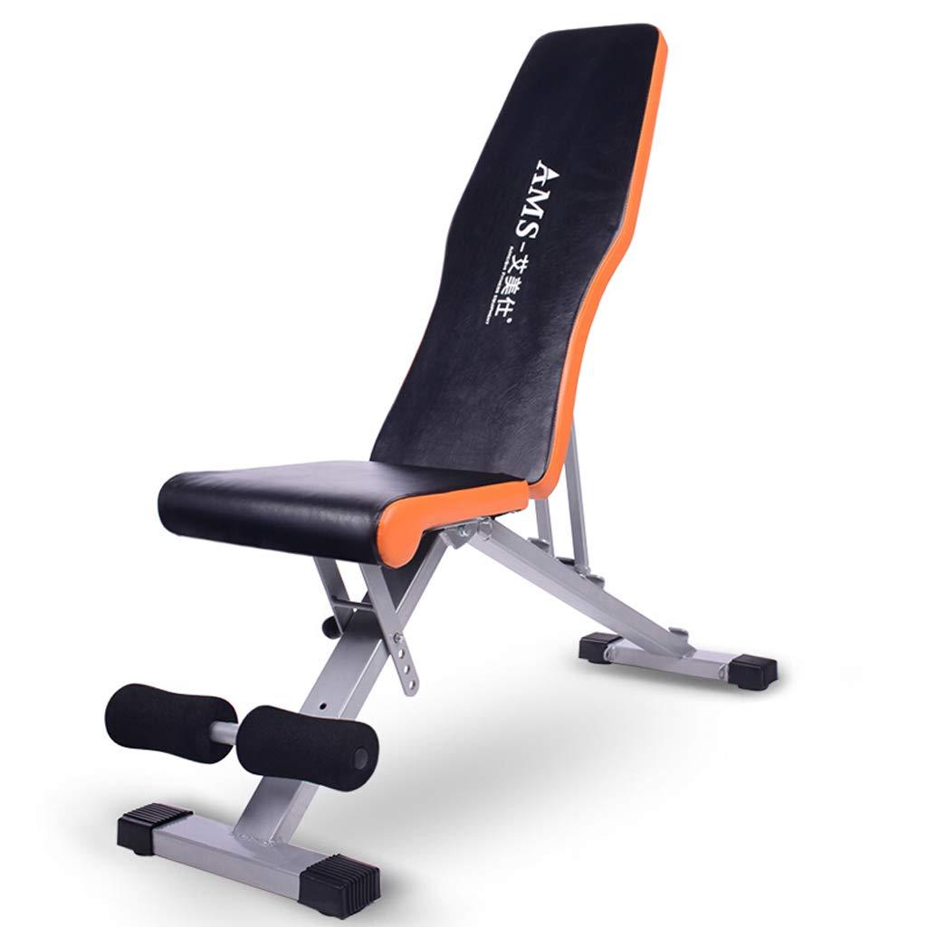 YXGH- Faltbare Multifunktions-Hantelbank, verstellbares Sitzbrett für den Haushalt, multifunktionale Fitnessgeräte, Ergonomisches Design Sportwaren